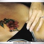 тату бикини №28 - достойный вариант рисунка, который удачно можно использовать для преобразования и нанесения как tattoo bikini