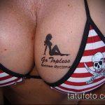 тату бикини №5 - уникальный вариант рисунка, который хорошо можно использовать для доработки и нанесения как tattoo bikini
