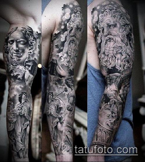 Фото татуировки с богам