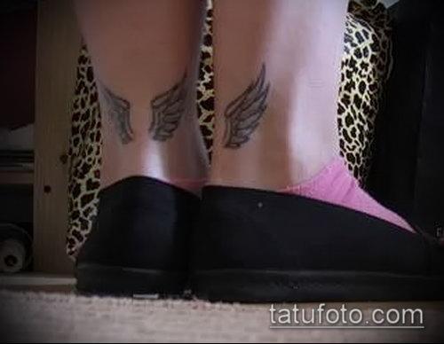 Фото тату крылья Гермеса - 06072017 - пример - 001 Tattoo wings of Hermes
