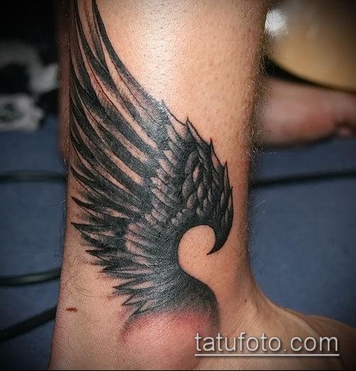 Фото тату крылья Гермеса - 06072017 - пример - 031 Tattoo wings of Hermes