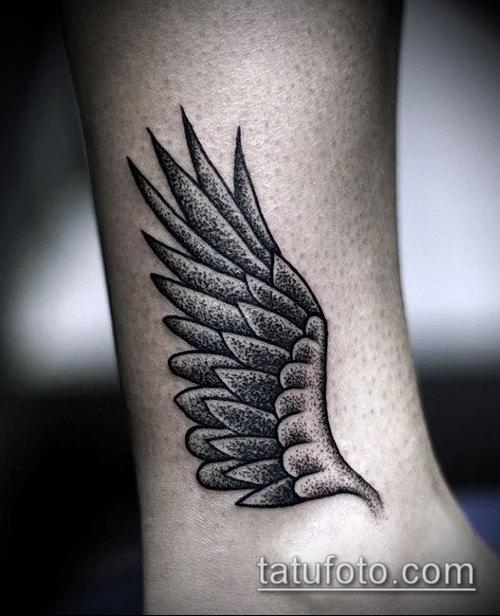 Фото тату крылья Гермеса - 06072017 - пример - 054 Tattoo wings of Hermes