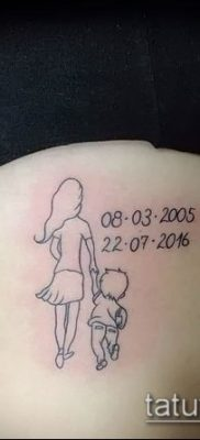 Фото тату портрет своего ребе – 01072017 – пример – 048 Tattoo portrait child_tatufoto.com