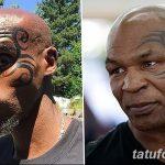 фото Тату Майка Тайсона на лице от 29.07.2017 №005 - Mike Tyson's Tattoo Face Tattoo