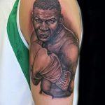 фото Тату Майка Тайсона на лице от 29.07.2017 №007 - Mike Tyson's Tattoo Face Tattoo