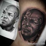 фото Тату Майка Тайсона на лице от 29.07.2017 №008 - Mike Tyson's Tattoo Face Tattoo