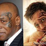 фото Тату Майка Тайсона на лице от 29.07.2017 №019 - Mike Tyson's Tattoo Face Tattoo