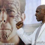 фото Тату Майка Тайсона на лице от 29.07.2017 №025 - Mike Tyson's Tattoo Face Tattoo