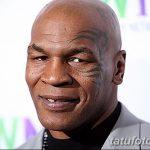 фото Тату Майка Тайсона на лице от 29.07.2017 №030 - Mike Tyson's Tattoo Face Tattoo