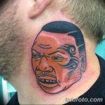 фото Тату Майка Тайсона на лице от 29.07.2017 №031 - Mike Tyson's Tattoo Face Tattoo