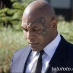 фото Тату Майка Тайсона на лице от 29.07.2017 №034 - Mike Tyson's Tattoo Face Tattoo