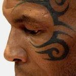 фото Тату Майка Тайсона на лице от 29.07.2017 №036 - Mike Tyson's Tattoo Face Tattoo
