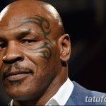 фото Тату Майка Тайсона на лице от 29.07.2017 №037 - Mike Tyson's Tattoo Face Tattoo 34246241