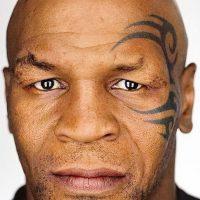 Татуировка Майка Тайсона на лице