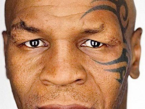 фото Тату Майка Тайсона на лице от 29.07.2017 №042 - Mike Tyson's Tattoo Face Tattoo