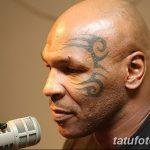 фото Тату Майка Тайсона на лице от 29.07.2017 №046 - Mike Tyson's Tattoo Face Tattoo