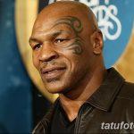 фото Тату Майка Тайсона на лице от 29.07.2017 №047 - Mike Tyson's Tattoo Face Tattoo