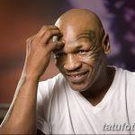 фото Тату Майка Тайсона на лице от 29.07.2017 №049 - Mike Tyson's Tattoo Face Tattoo