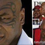 фото Тату Майка Тайсона на лице от 29.07.2017 №050 - Mike Tyson's Tattoo Face Tattoo