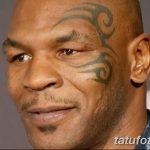 фото Тату Майка Тайсона на лице от 29.07.2017 №054 - Mike Tyson's Tattoo Face Tattoo