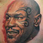 фото Тату Майка Тайсона на лице от 29.07.2017 №068 - Mike Tyson's Tattoo Face Tattoo