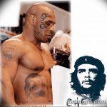 фото Тату Майка Тайсона на лице от 29.07.2017 №073 - Mike Tyson's Tattoo Face Tattoo