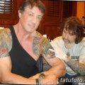 фото Тату Сильвестра Сталлоне от 27.07.2017 №044 - Sylvester Stallone Tattoo_tatufoto