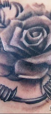 фото тату колючая проволока от 26.07.2017 №010 – Tattoo barbed wire_tatufoto.com