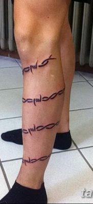 фото тату колючая проволока от 26.07.2017 №047 – Tattoo barbed wire_tatufoto.com