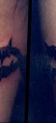 фото тату колючая проволока от 26.07.2017 №050 – Tattoo barbed wire_tatufoto.com
