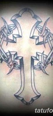фото тату колючая проволока от 26.07.2017 №062 – Tattoo barbed wire_tatufoto.com