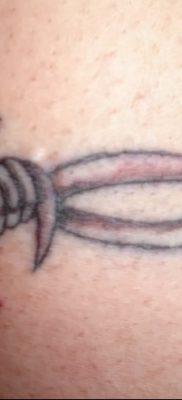 фото тату колючая проволока от 26.07.2017 №068 – Tattoo barbed wire_tatufoto.com