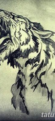 фото тату саблезубый тигр от 25.07.2017 №014 – Tattoo saber-toothed tiger