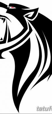 фото тату саблезубый тигр от 25.07.2017 №027 – Tattoo saber-toothed tiger