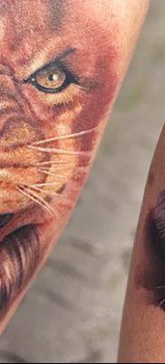 фото тату саблезубый тигр от 25.07.2017 №032 – Tattoo saber-toothed tiger