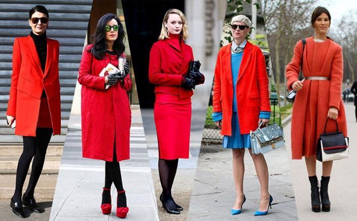 С чем носить красное пальто - стильный образ с Mario Muzi - фото 1