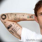фото Временные тату от 12.08.2017 №002 - Temporary Tattoo_tatufoto.com