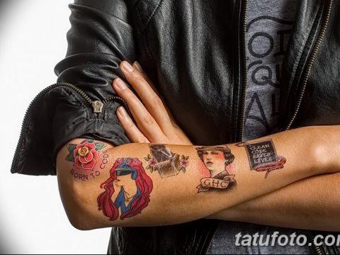 фото Временные тату от 12.08.2017 №039 - Temporary Tattoo_tatufoto.com