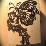 фото Мехенди бабочка от 01.08.2017 №004 - Mehendi Butterfly_tatufoto.com