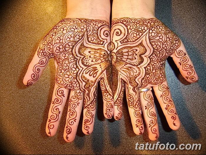 фото Мехенди бабочка от 01.08.2017 №011 - Mehendi Butterfly_tatufoto.com