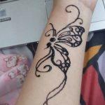 фото Мехенди бабочка от 01.08.2017 №016 - Mehendi Butterfly_tatufoto.com