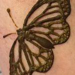 фото Мехенди бабочка от 01.08.2017 №017 - Mehendi Butterfly_tatufoto.com