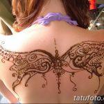 фото Мехенди бабочка от 01.08.2017 №018 - Mehendi Butterfly_tatufoto.com