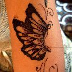 фото Мехенди бабочка от 01.08.2017 №021 - Mehendi Butterfly_tatufoto.com