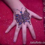 фото Мехенди бабочка от 01.08.2017 №041 - Mehendi Butterfly_tatufoto.com