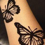 фото Мехенди бабочка от 01.08.2017 №055 - Mehendi Butterfly_tatufoto.com