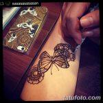 фото Мехенди бабочка от 01.08.2017 №057 - Mehendi Butterfly_tatufoto.com