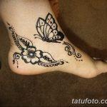 фото Мехенди бабочка от 01.08.2017 №059 - Mehendi Butterfly_tatufoto.com