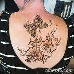 фото Мехенди бабочка от 01.08.2017 №061 - Mehendi Butterfly_tatufoto.com