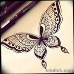 фото Мехенди бабочка от 01.08.2017 №074 - Mehendi Butterfly_tatufoto.com